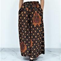 Jual Celana Batik Kulot Panjang Motif Bintang B Murah