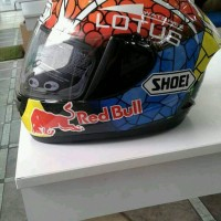 helm fullface ink cl mac repaint shoei marques