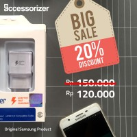 Jual Fast Charger Samsung galaxy note 4 5 S6 S7 original SEIN Murah