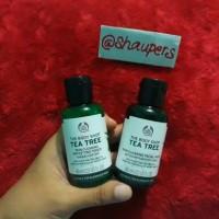 Tea Tree Skin Clearing Facial Wash & Mattifying Toner The Body Shop
