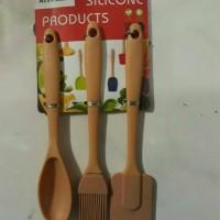 alat/dapur/tools/silikon/silicone mould/mold/set/spatula/sendok/koas
