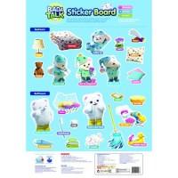 Bada Talk Sticker Board Blue