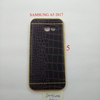 SOFTSHELL SOFTCASE LIST GOLD FOR SAMSUNG A5 2017