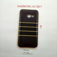 SOFTSHELL SOFTCASE LIST GOLD FOR SAMSUNG A3 2017