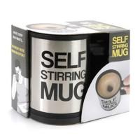 Jual Gelas Pengaduk Auto/Self Stirring Mug - Mug Pengaduk Otomatis Murah