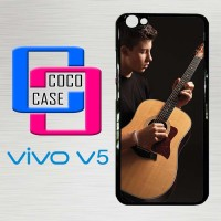 Casing Hardcase Hp Vivo V5 Shawn Mendez Playing Guitar X4406