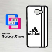 Casing Hp Samsung Galaxy J7 Prime White Adidas Custom X4543
