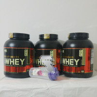 harga Whey Gold Standard 100 % Whey Protein On 5 Lb Free Shaker Bpom Tokopedia.com