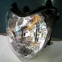 Lampu Motor H4 Led   Tiga Sisi Ac/Dc   Scoopy Fi   Vixion   Verza  