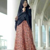 Cerry Set Sparkle Orange Hijab Alila