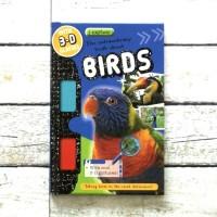 Harga buku import anak i explore birds with 3d glasses and 3d | antitipu.com