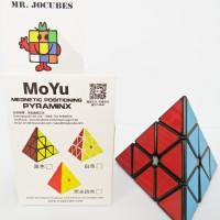 Rubik 3x3 Pyraminx Moyu Magnetic Black