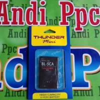 Baterai Battery Nokia BL-5CA 1110 1680 2323 1208 1209 DOUBLE IC