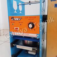 Jual Mesin PRESS GELAS/ Cup Sealer Eton ET-D8 Manual ( TANPA PLASTIK ) Murah