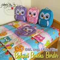 Jual Bantal Selimut Bedcover ( Balmut ) OWL merk HoneyBee Murah