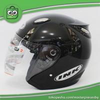 Helm INK Centro Jet BLACK METALLIC / GLOSSY [ORIGINAL PRODUCT].