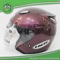Helm INK Centro Jet DEEP PURPLE / UNGU [ORIGINAL PRODUCT].