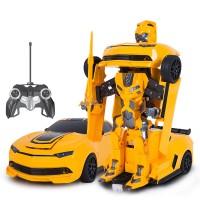 Jual MAINAN MOBIL RC TRANSFORMER BUMBLE BEE , DEFORMED CAR, DRIFT 2.4ghz Murah