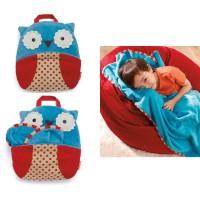 Skiphop Skip Hop Zoo Travel Blanket Owl - ORIGINAL