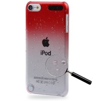 Jual SS6103 - ULTRA SLIM GRADIENT CASE IPOD TOUCH 5 / 6 RED Murah