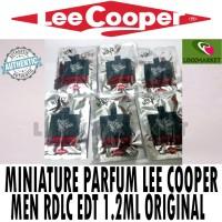 AUTHENTIC VIAL PARFUM LEE COOPER MEN RDLC 1,2 ML EAU DE TOILETTE