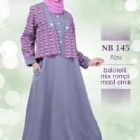 Gamis Nibras NB 145 Abu