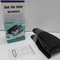 Jual Pemotong Sim Card Dual Sim Cutter Nano Sim & Micro Sim iPhone 5 5S 4S Murah