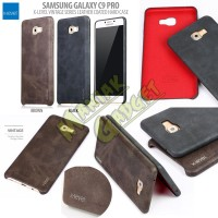Jual Hard Case Leather Coated X-Level Samsung Galaxy C9 Pro Murah