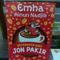 Buku Novel Secangkir Kopi Jon Pakir By Emha Ainun Najib