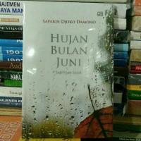 Buku Novel Hujan Bulan Juni By Sapardi Djoko Damono NEWCOVER
