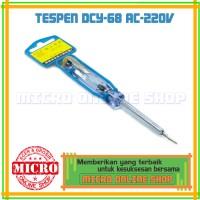 harga Tespen Ac Rongshan Dcy-68/ Obeng Minus / Obeng Min Tokopedia.com