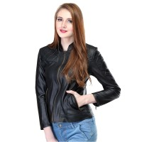 harga Jaket Kulit Sintetis Jacket Semi Jeket Wanita Cewek Perempuan Ladies Tokopedia.com