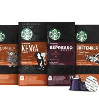 Jual STARBUCKS Nespresso Coffee Machine Compatible Pods isi 40 Pods Mix Murah