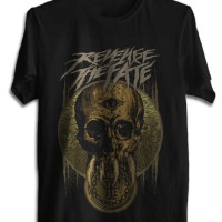 KAOS BAJU DISTRO REVENGE THE FATE TSHIRT MUSIK ROCK METAL RTF 01