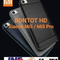 Casing Ipaky Carbon Slim Case Cover Armor Hybrid Xiaomi Mi5 / Mi 5 Pro