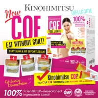 KINOHIMITSU COF 6g x 30's Cut Oil Formula with Natural Fat Magnet