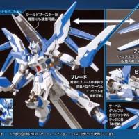 Robot Gundam HG 1-144 Hi-V gundam Vrabe - Gunpla