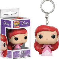 Funko Pocket POP! Keychain Disney Little Mermaid - Ariel (Pink Dress)