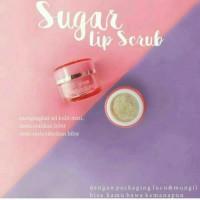 Sugar lip Scrub Ms Glow by Cantik Skincare Original 100%