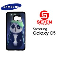 Casing HP Samsung C5 Cute panda Custom Hardcase