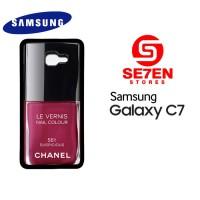 Casing HP Samsung C7 Chanel Le Vernis Suspicious Custom Hardcase Cover