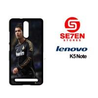 Casing HP Lenovo K5 Note Cristiano Ronaldo CR7 2 Custom Hardcase