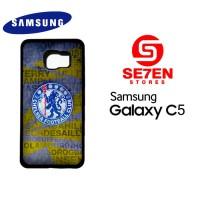 Casing HP Samsung C5 chelsea fc crest Custom Hardcase