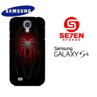 Casing HP Samsung S4 cool spiderman logo Custom Hardcase Cover