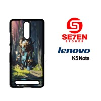 Casing HP Lenovo K5 Note cute spirit breaker Custom Hardcase