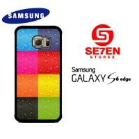 Casing HP Samsung S6 Edge colorfull iphone Custom Hardcase Cover