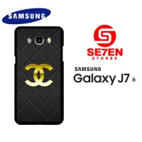 Casing HP Samsung J7 2016 Chanel logo gold Custom Hardcase