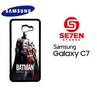 Casing HP Samsung C7 Batman arkham city 3 Custom Hardcase Cover