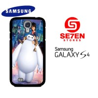 Casing HP Samsung S4 Big Hero 6 Baymax 2 Custom Hardcase Cover