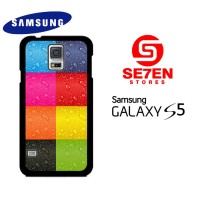 Casing HP Samsung S5 colorfull iphone Custom Hardcase Cover